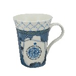 Tazza (Mug) - Design Rosa dei Venti in Porcellana
