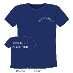 T-Shirt Ancient Mariner in cotone blu - Varie taglie