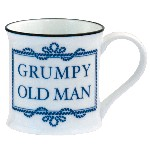 Tazza Grumpy Old Man in porcellana - Ø 8 cm