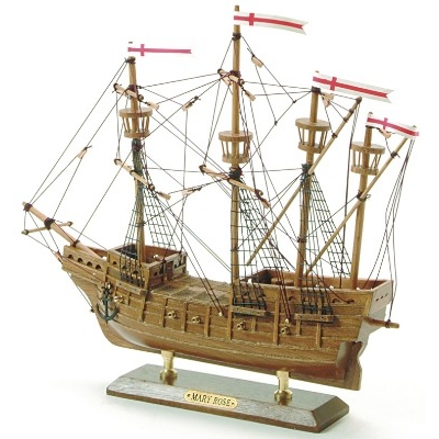 NA 7498 - Veliero in Legno Mary Rose - 33 cm