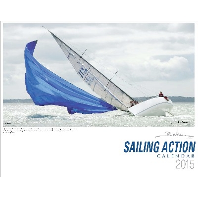 NA 4772 - Copertina del Calendario Beken of Cowes 2015 - SAILING ACTION