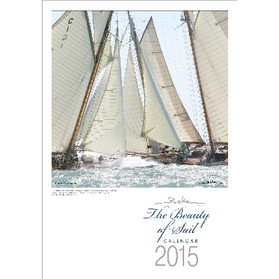 NA 4773 - Copertina del Calendario Beken of Cowes 2015 - BEAUTY OF SAIL