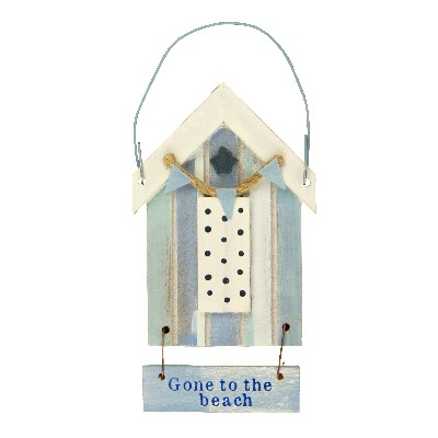 NA 52676 - Cabina da spiaggia in legno Gone to the beach - H tot 12,5 cm