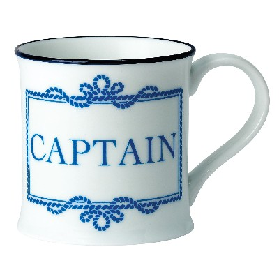 NA 6289 - Tazza Captain in porcellana - Ø 8 cm