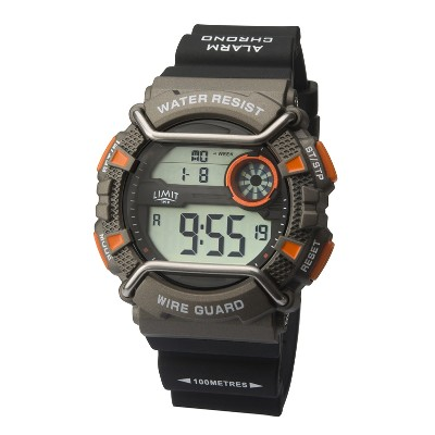 NA 96795 - Orologio digitale Wire Guard - canna di fucile/arancione - Ø 49 mm