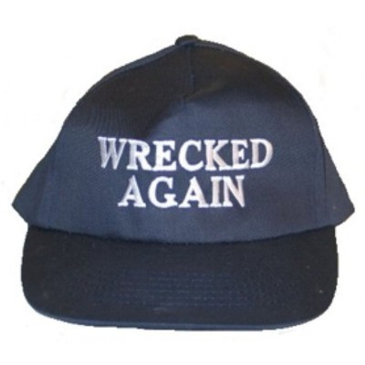 Cappellino da baseball WRECKED AGAIN